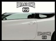BILLABONG (2) CAR BODY DECALS